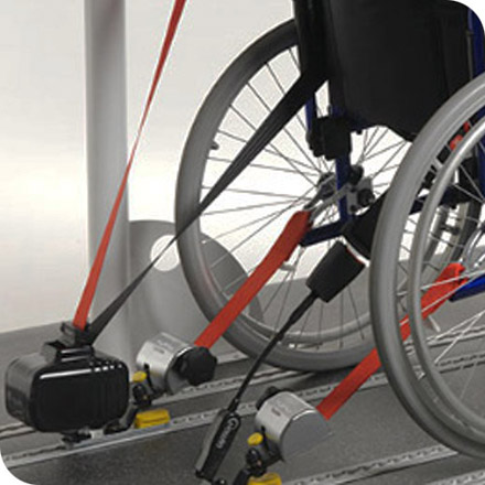 Tracking for up to 4 wheelchairs